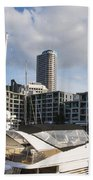 Auckland City View Beach Towel