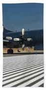 Lockheed Cp-140 Aurora Beach Towel