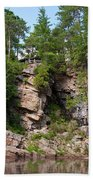 Ausable Chasm 1608 Beach Towel