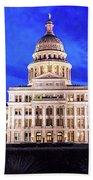 Austin State Capitol Building, Texas - Beach Towel