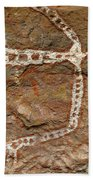 Indigenous Aboriginal Art Art 1 Beach Towel
