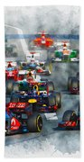 Australian Grand Prix F1 2012 Beach Towel