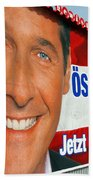Austrian Politics Beach Towel