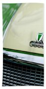 Auto Union Dkw Hood Emblem Beach Towel