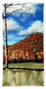 Autum Hill Beach Towel