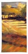 Autumn Abstract Beach Towel
