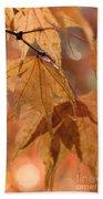 Autumn Acer Beach Towel