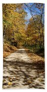 Autumn Afternoons Beach Towel