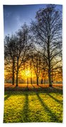 Autumn Arrives Beach Towel