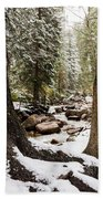 Autumn At Gore Creek 5 - Vail Colorado Beach Towel by Brian Harig