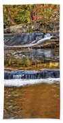 Autumn At Olmsted Falls Beach Towel