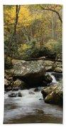 Autumn At Stony Creek Beach Towel
