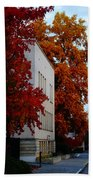 Autumn At The Grants Pass Courthouse Beach Towel