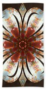 Autumn Blooming Beach Towel