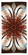 Autumn Blooming Beach Sheet by Derek Gedney