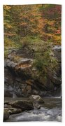 Autumn Cascades Beach Towel