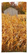 Autumn Corn Beach Towel