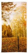 Autumn Cottage Beach Sheet