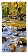 Autumn Creek Beach Towel