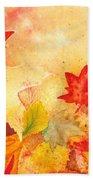 Autumn Dance Beach Sheet