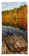 Autumn Day Beach Towel