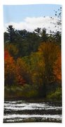 Autumn Dreaming Adwc Beach Towel