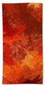Autumn Fire Beach Towel