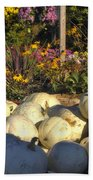 Autumn Gourds Beach Towel