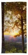 Autumn Highlights Beach Towel by Debra and Dave Vanderlaan