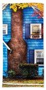 Autumn - House - Little Dream House  Beach Towel