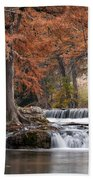 Autumn Idyll Beach Towel