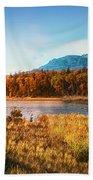 Autumn In Montana Beach Towel