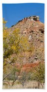 Autumn In Palo Duro Canyon 110213.119 Beach Towel