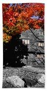 Autumn In Salem Beach Towel