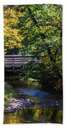 Autumn In Stillwater Beach Towel