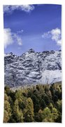 Autumn In The Alps Beach Towel