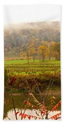 Autumn In The Butternut Valley-six Beach Towel