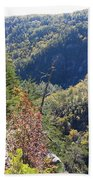 Autumn In The Gorge Beach Towel