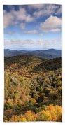 Autumn In The Blue Ridge Mountains Beach Towel