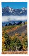 Autumn In The Tetons Beach Towel