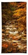 Autumn In Vermont Beach Towel