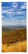 Autumn Layers Beach Towel