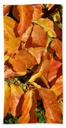 Autumn Leaves 82 Beach Towel