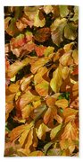 Autumn Leaves 83 Beach Towel