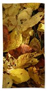 Autumn Leaves 94 Beach Towel