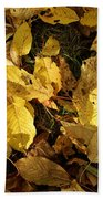 Autumn Leaves 95 Beach Towel