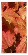 Autumn Leaves 98 Beach Towel