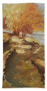 Autumn Light2 Beach Towel
