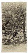 Autumn Mill 2 Antique Beach Towel