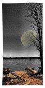 Autumn Moon Beach Sheet